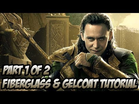 Gelcoat and Fiberglass Tutorial - Part 1 of 2