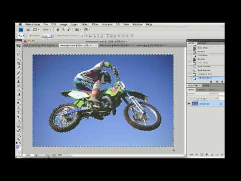 Photoshop CS4 Save and Load Selections