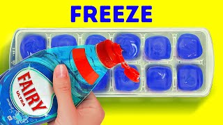 39 CLEVER CLEANING LIFEHACKS