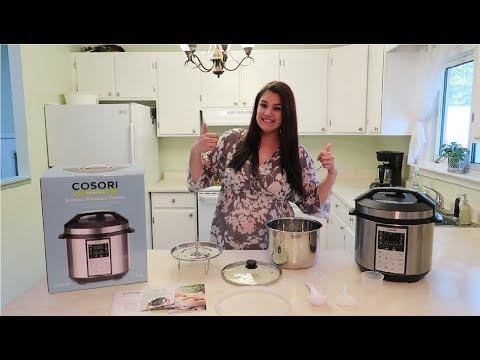 EASY CHICKEN FAJITAS   COSORI PRESSURE COOKER REVIEW