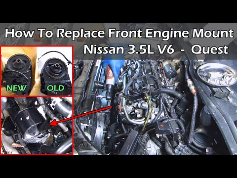 Nissan 3.5 V6 Front Engine Mount Replacement - Complete Guide