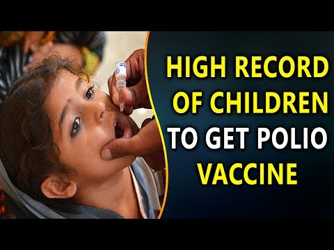 High Record Of Children Below 5 years To Get Polio Vaccine This Year | YOYO Times