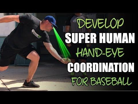 4 Hand Eye Coordination Development Drills for Baseball
