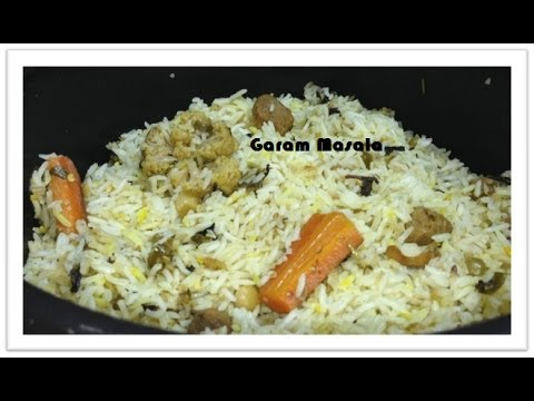 Vegetable Biryani Kerala Style by Garam Masala