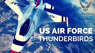 US Air Force Thunderbirds in Action
