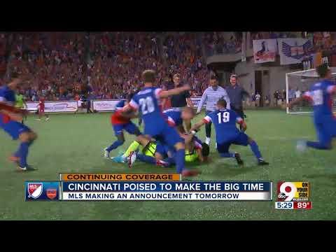 Cincinnati poised to make MLS