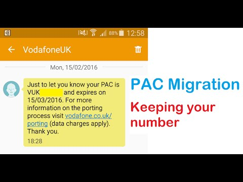 Moving your Number between Providers with PAC.  Easy Peasy!