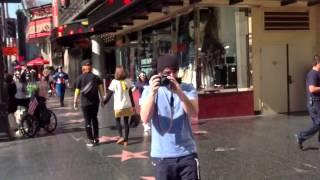 Hollywood Paseo De La Fama Y Rodajes