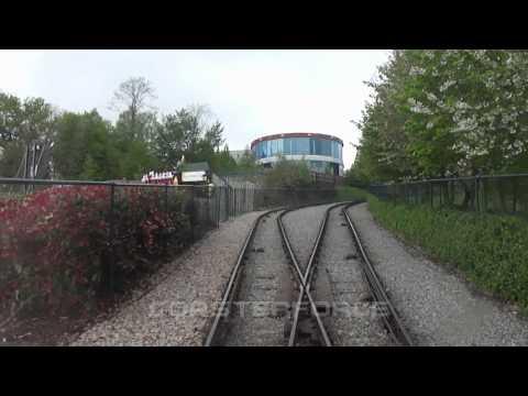 The Hill Train - Legoland Windsor reverse POV