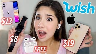 I Bought a FAKE iPhone 11 and Apple Watch from Wish!!!