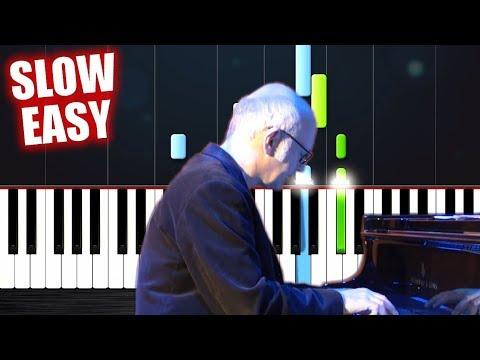 Ludovico Einaudi - I Giorni - SLOW EASY Piano Tutorial by PlutaX