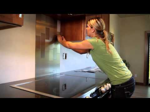 Backsplash Installation-Metal Tiles.mov