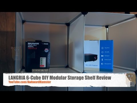 LANGRIA 6 Cube DIY Modular Storage Shelf Review
