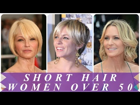 Best short hairstyles for 50 year old woman 2018