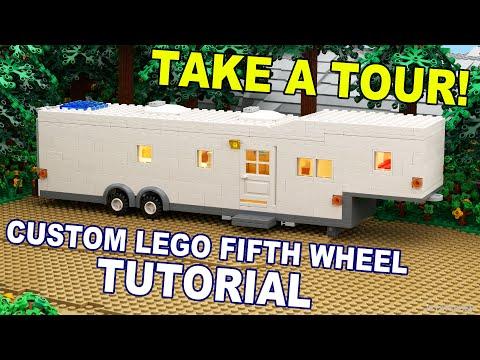 LEGO Fifth Wheel Travel Trailer Custom MOC