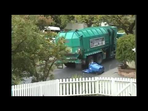 Recycling Truck Fail - Funny Video