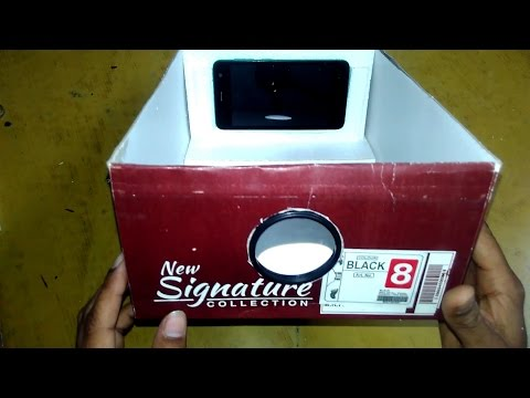 How To Make Projector By Lens And Small Box