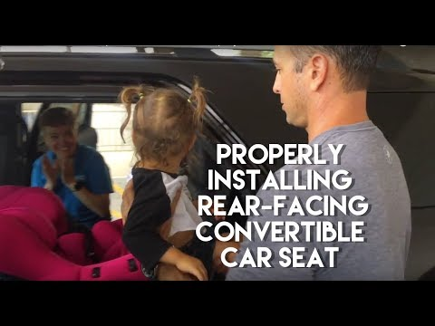 Convertible Car Seats: Experts Show You How to Properly Install a Toddler Into Their Seats