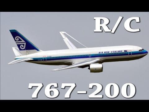 RC Boeing 767-200 EDF Air New Zealand Depron Airliner Jet Flights