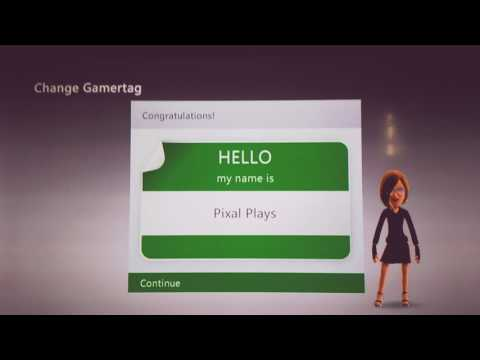 How to change your gamertag on Xbox 360 for Free!