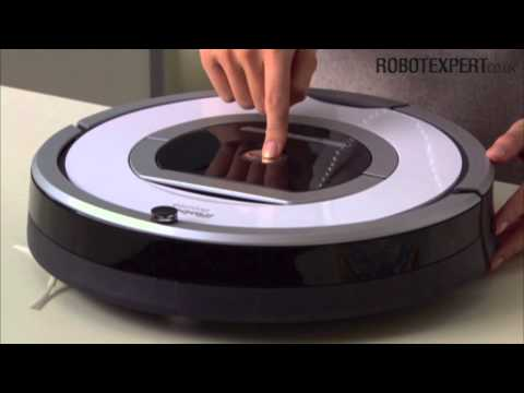 Roomba 700-series: How to schedule