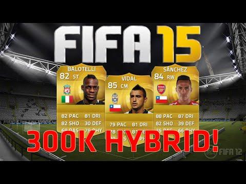 FIFA 15 Ultimate Team | 300K UNBEATEN Hybrid Squad Builder ft. Vidal, Alexis & Balotelli!