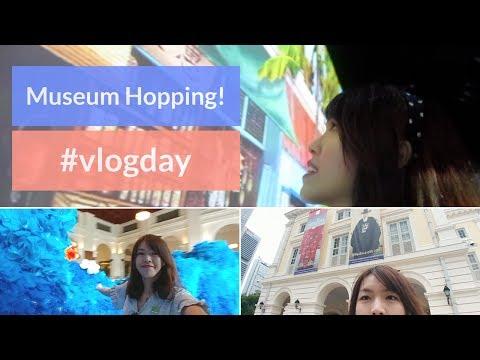 #vlogday, Museum Hopping in Singapore!