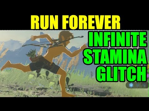 Run FOREVER & FASTER in Zelda: Breath of the Wild - INFINITE STAMINA GLITCH [Tips & Tricks]