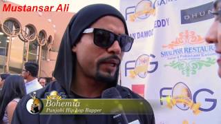 BOHEMIA The Punjabi Rapper And J.HIND Performing Live In FOG Awards 2015 (OFFICIAL Full Video)