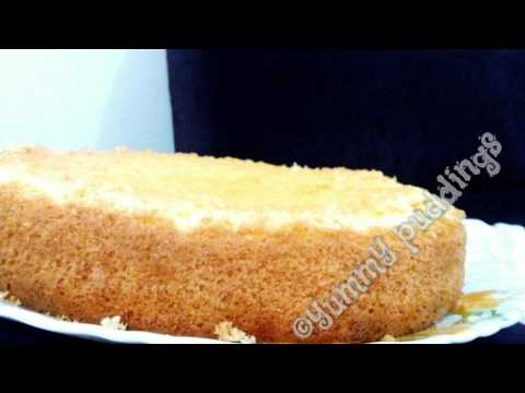 Vanilla sponge cake( No butter, No oil)  FOOLPROOF RECIPE