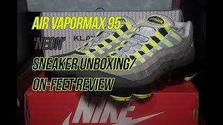 new product 6534e 169de Nike Air Vapormax 95  Neon    Solepost Unboxings