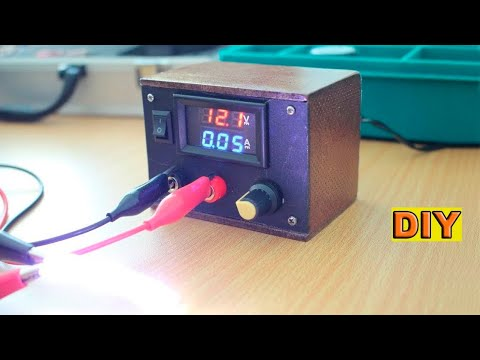DIY : Mini Variable voltage power supply