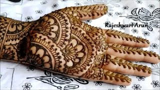 easy bridal henna mehndi designs for hands || mehndi designs for hands for marriage