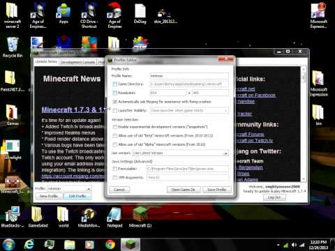 how to fix minecraft launcher 1.3.10