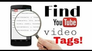 How to find tags of videos on android||by AllInOne