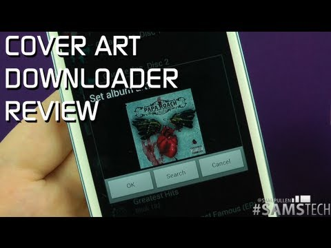 Cover Art Downloader Review [Android App]