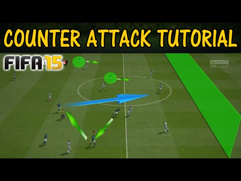 FIFA 15 COUNTER ATTACK TUTORIAL /  How to score fast & easy goals / The Art of CounterAttacks