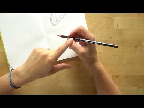 How to hold your pencil for drawing and writing