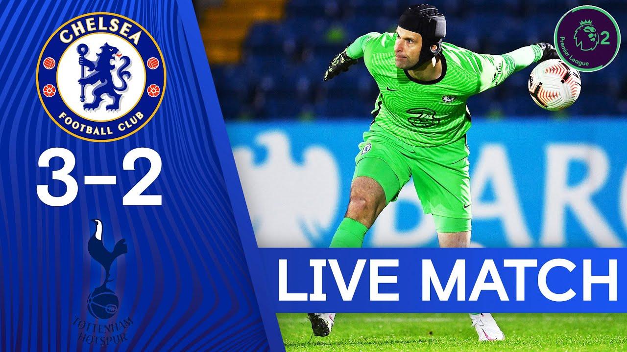 Chelsea U23 3-2 Tottenham U23 | Premier League 2 | Live Match