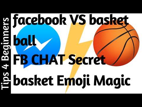 How to play hidden basketball soccer game in FB MESSENGER | FACEBOOK tips tricks