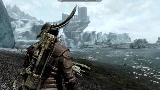 Skyrim Gameplay - Archer journeys to the Shrine of Azura