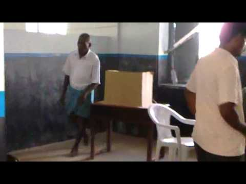 Tamilnadu election polling video
