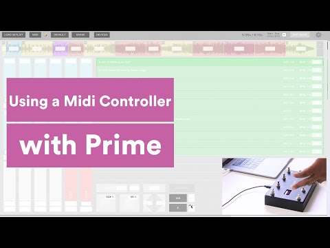 Using A Midi Controller with Prime