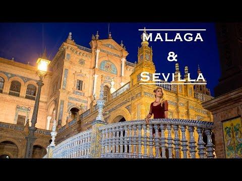 Travel Vlog   Malaga & Sevilla   Andalucia 2016