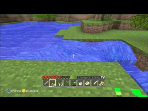 Minecraft for Xbox 360 Part 28 - Harvesting wheat, finishing the house