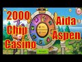 Idle Heroes - 2000 Chip Casino Get Aida, Aspen   Kim Cuong