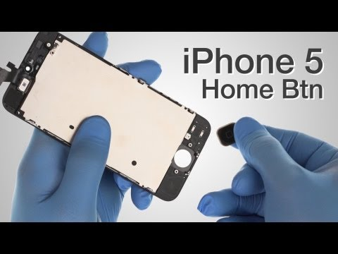 Home Button Flex Cable Repair - iPhone 5 How to Tutorial