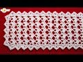 Festive Table Runner Crochet Pattern- Looks Fancy, Easy Pattern!