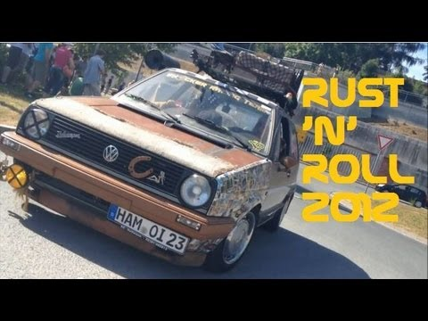 Rat Style Rusty Cars - Rust 'n Roll - Ratten & Retro Car Meeting 2012