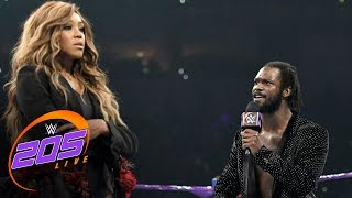 Rich Swann reveals why he sent gifts to Alicia Fox: WWE 205 Live, April 18, 2017